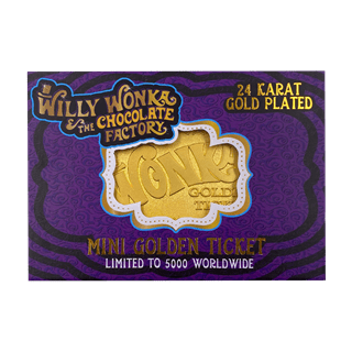 Willy Wonka: Golden Ticket Limited Edition Collectible
