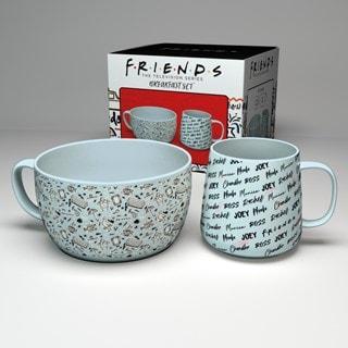 Friends Breakfast Set