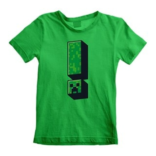 Minecraft Creeper: Exclamation (Kids Tee)