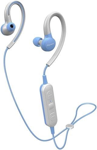 Pioneer E6 Blue Sports Bluetooth Earphones