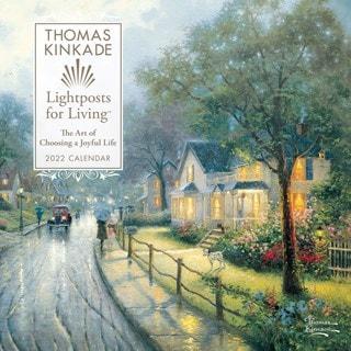 Thomas Kinkade: Lightposts For Living Square 2022 Calendar