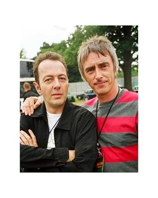 Joe Strummer & Paul Weller at V Festival (Size 20x25) Print