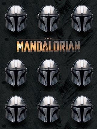 Star Wars: The Mandalorian: Helmets Canvas Print