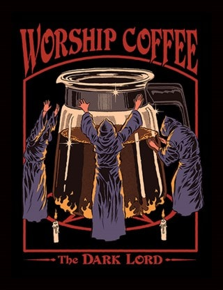 Steven Rhodes: Worship Coffee Framed Print