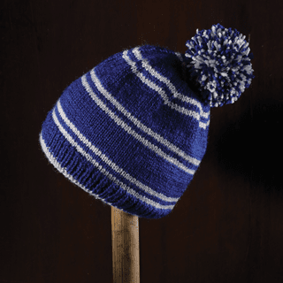 Harry Potter: Ravenclaw Bobble Hat Kit: Knit Kit: Hero Collector