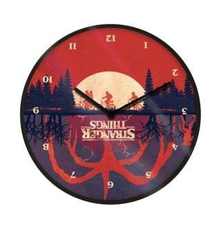 Upside Down: Stranger Things Clock