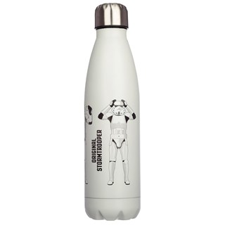 Original Stormtrooper Reusable Stainless Steel Thermal Insulated White Bottle