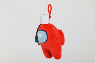 Among Us: Red Clip On Plush