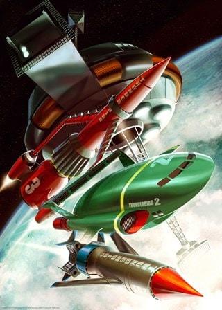 Thunderbirds: Jake Lynch Art Print
