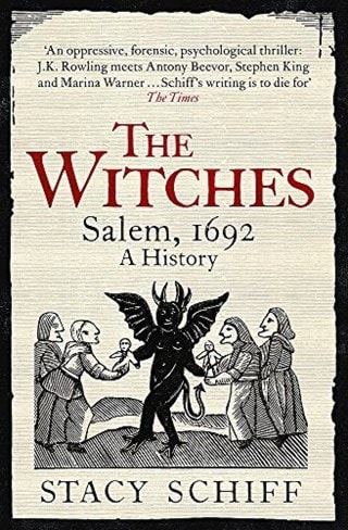 The Witches: Salem, 1692 A History