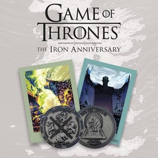 Game of Thrones: Iron Anniversary Limited Edition Medallion