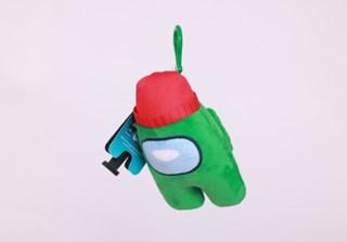 Among Us: Green Clip On Plush