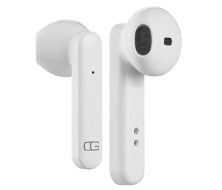 Nusound Zero G White True Wireless Bluetooth Earphones