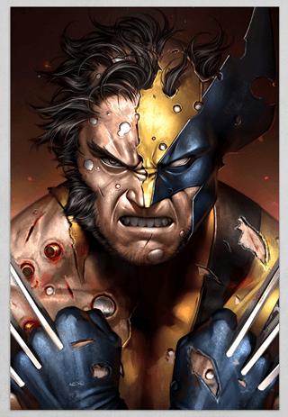 Wolverine Limited Edition Fine Art Print