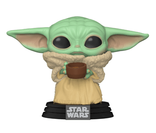 The Mandalorian: The Child With Cup - Baby Yoda (378) Star Wars Pop Vinyl