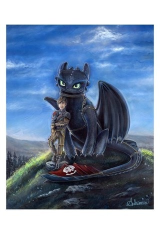 How To Train Your Dragon: Buddies Giclee Limited Edition Art Print