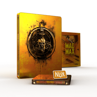 Mad Max: Fury Road Titans Of Cult Limited Edition 4K Steelbook