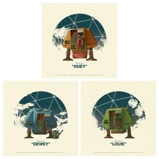 Silent Running: Huey, Dewey & Louie Mini Art Prints
