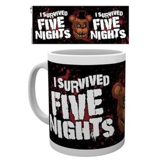 I Survived Five Nights At Freddy's Mug