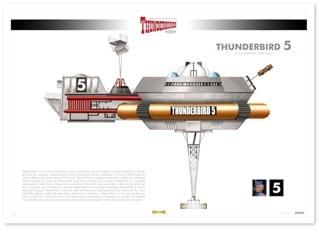 Thunderbird 5: Infographic Art Print