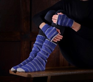 Ravenclaw Mittens & Slouch Socks: Harry Potter Knit Kit