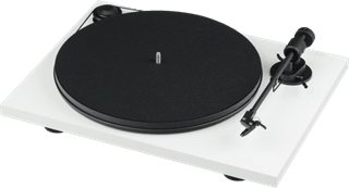 Pro-Ject Primary E Phono White Turntable and Jamo DS4 Speakers