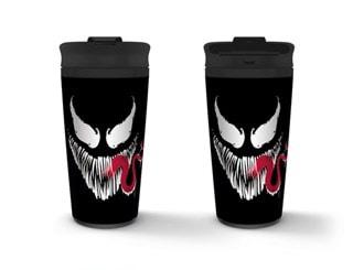 Metal Travel Mug: Venom: Face