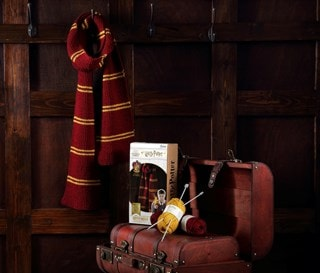 Gryffindor House Scarf: Harry Potter Knit Kit