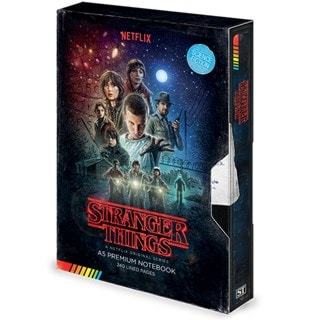 Stranger Things (S1) VHS Premium A5 Notebook