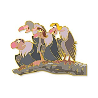 Four Vultures: Jungle Book: Disney Limited Edition Artland Pin