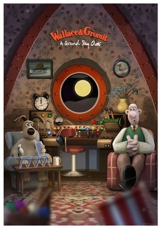 Wallace & Gromit: Grand Day Out Art Print