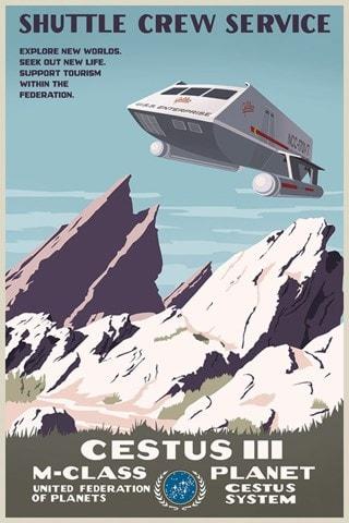 Star Trek Cestus III Steve Thomas Art Print