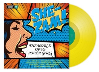 She-Zam! World of 60s Power Girls (hmv Exclusive) Yellow Vinyl