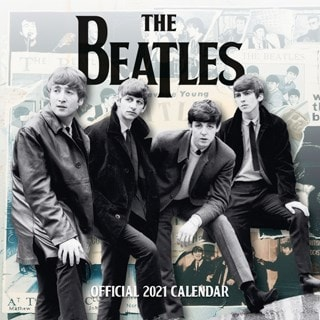 The Beatles: Square 2021 Calendar