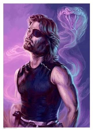 Escape From New York: Call Me Snake Art Print