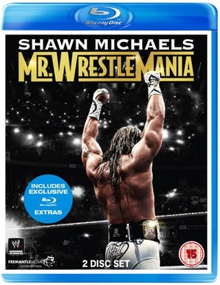 WWE: Shawn Michaels - Mr WrestleMania