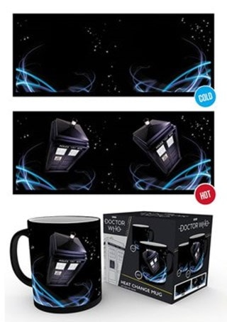 Doctor Who: Tardis Heat Change Mug