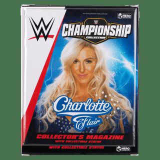 Charlotte Flair WWE Championship 1:16 Figurine With Magazine: Hero Collector