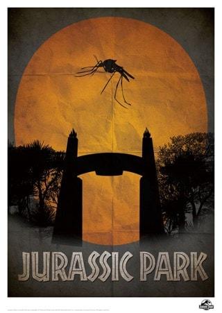 Jurassic Park: Gate Limited Edition Print