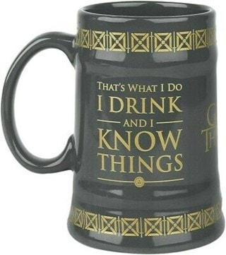 Game of Thrones: I Drink & I Know Things Stein