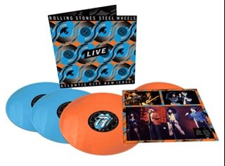 Steel Wheels Live - Atlantic City, New Jersey - Limited Edition Blue & Orange Vinyl
