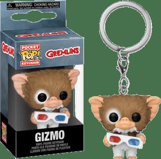 Gizmo With 3D Glasses: Gremlins Pop Vinyl: Keychain