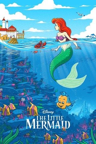 The Little Mermaid: Disney Limited Edition Art Print