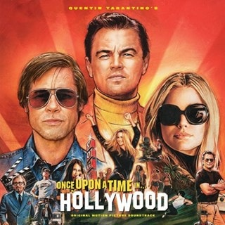 Once Upon a Time in Hollywood: Limited Edition Translucent Orange Vinyl