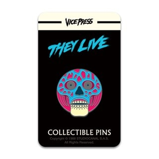 They Live: Alien Pin Badge