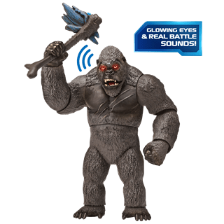 Monsterverse Godzilla vs Kong: Mega Kong with Lights & Sounds Action Figure