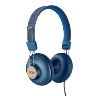 House Of Marley Positive Vibration 2.0 Denim Headphones w/Mic (hmv Exclusive)