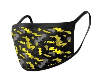 Batman: Camo Yellow Face Covering (2 pack)