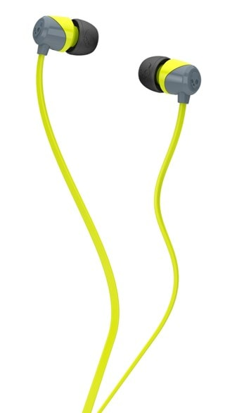 Skullcandy Jib Grey/Hot Lime Earphones