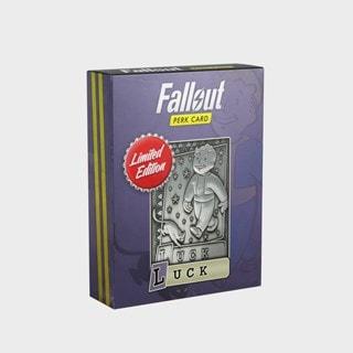 Fallout: Luck Metal Perk Card